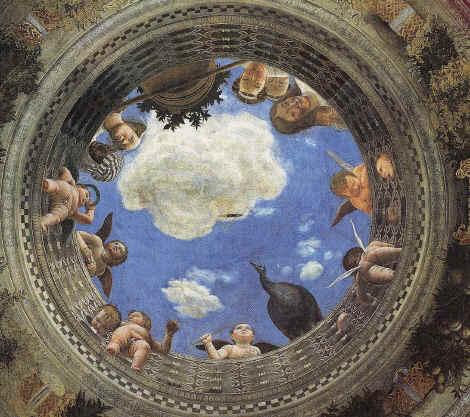 Opera for La camera degli sposi di andrea mantegna