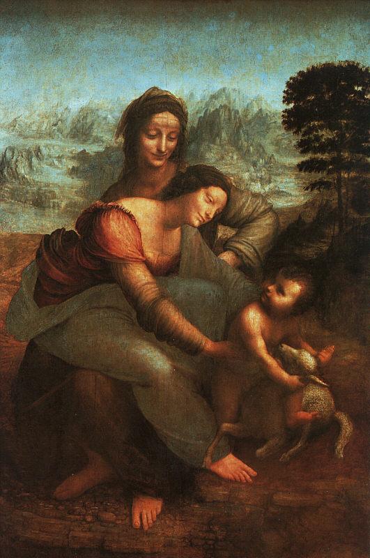Madonna con Sant'Anna - 1501 - Leonardo